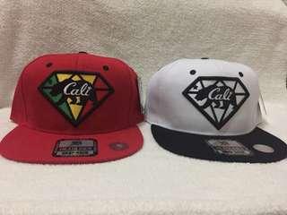 Cali snapback hats