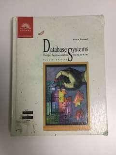Database Systems: Design, Implementation & Management