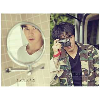 [Pre-Order] JUNJIN 전진 FIRST PHOTOBOOK- THE SEASONS REVOLVE (A SUMMER || B SUMMER)