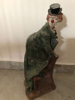 Rare Vintage Collectable Clown on Chair
