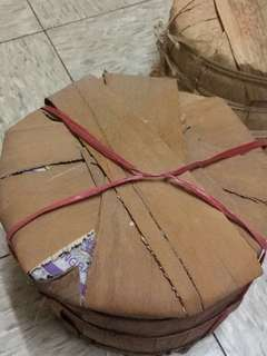 老紫大益 生餅 陳期 20年 原筒 茶餅