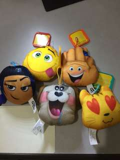 Emoji Movie Plushies by McDonald's Happy Meal