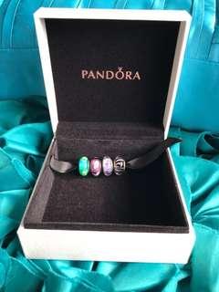 Pandora murano glass beads