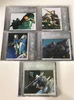 機動戰士 Gundam 高達 0083 OVA VCD 1  - 5 碟完