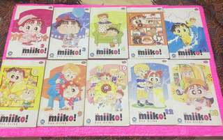 Komik Miiko 2-6; 8-14; 17; Miiko zaman edo & kumpulan cerita miiko