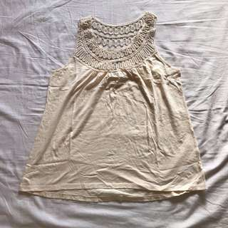 F21 Sleeveless Top