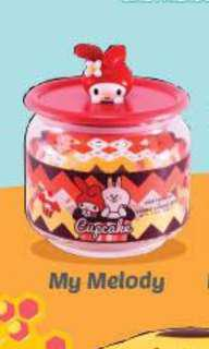 7 eleven sweetness overload Sanrio x line containers - trade my melody to little twin stars
