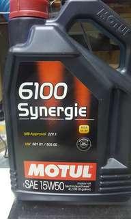 MOTUL 6100 SYNERGIE  SAE15W50 4L