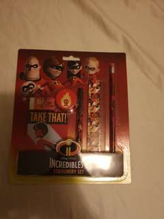 Incredibles 2 Stationery set