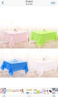 Table Cloth for birthday party