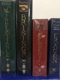 Inheritance Cycle Books