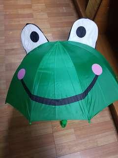 3D小青蛙雨傘
