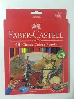 Faber Castell Colour Pencils 48 pcs