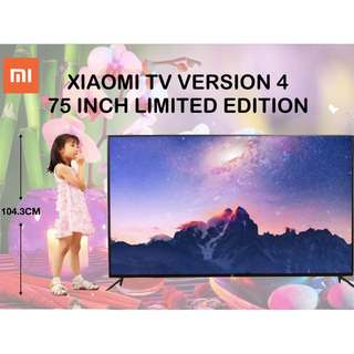 XIAOMI TV VERSION 4 75""