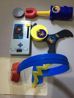 Superheroes - McDonald's Happy Meal toys