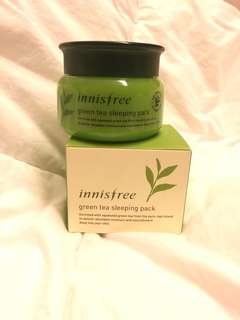 Unused Innisfree Green Tea Sleeping Pack 80ml