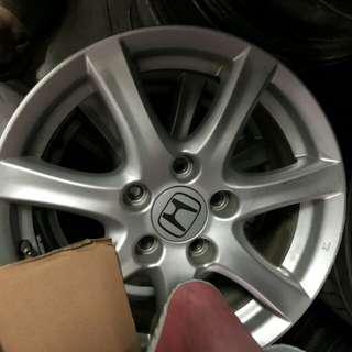 本田K12鋁圈16吋(四個)