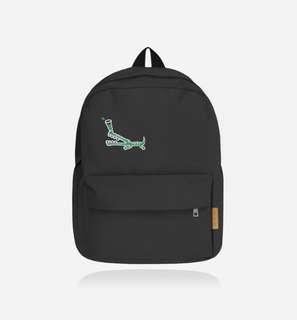 🚚 ❗️二手❗️小鱷魚的難處-大黑色帆布包