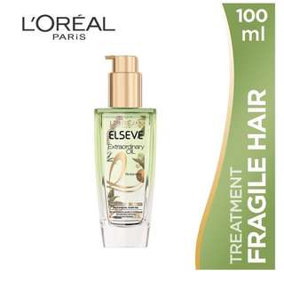 Loreal Extraordinary Oil (with free gift)