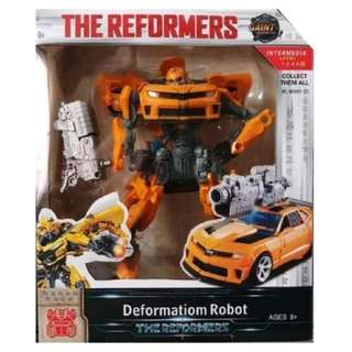 Mainan robot transformer bumble bee