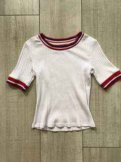 Kitschen Ribbed Top