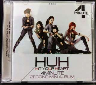 4 Minute-Hit Your Heart CD+DVD