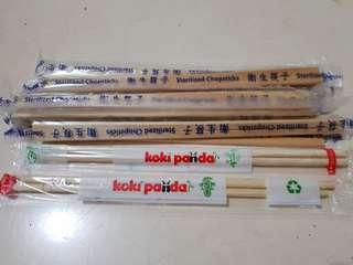 Jual sumpit kayu @Rp100