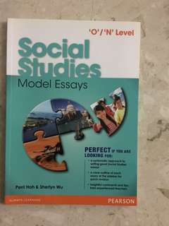 O/N level Social Studies Model Essays (Pearson)