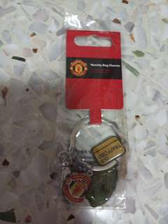 Manchester United Novelty Bag Charms