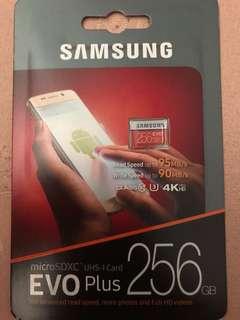 🚚 Samsung SD Card 256GB