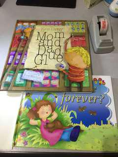 Books to comfort kids of sad events - (divorce, bereavement)