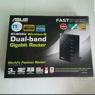 Asus RT-N56U Wireless-N Dual-band Gigabit Router
