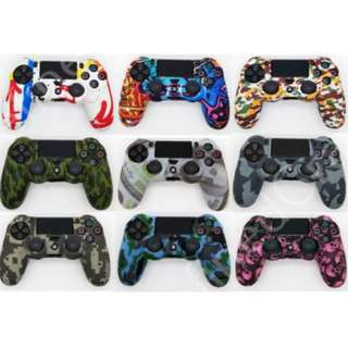 PS4 controller graffiti Full silicone case cover playstation 4 dual shock controller
