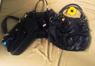 Bundles black bags