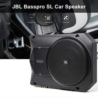 JBL BASSPRO SL CAR ACTIVE SPEAKER 8-INCH 125W SUBWOOFER (BLACK)