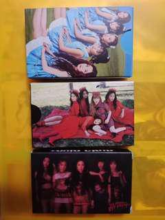 Red Velvet LOMO CARDS