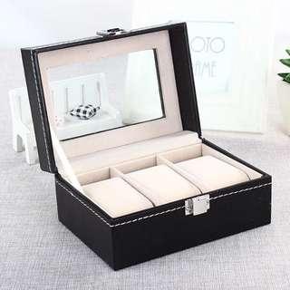 3格手錶收藏盒/watch box for three