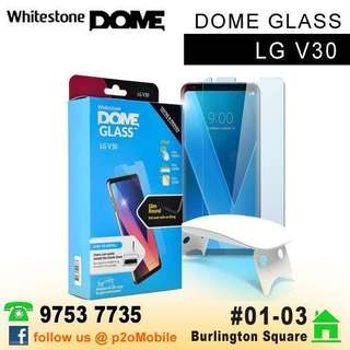 Whitestone Dome Glass for LG V30 & LG V30+