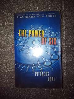 Im number four the power of six book