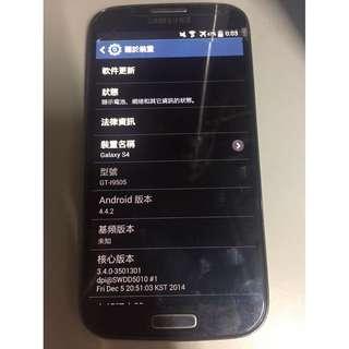 Samsung Galaxy S4 LTE GT-i9505 16GB 壞機
