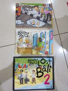 Buku Kartun Benny & Mice