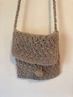 vintage boho festival shoulder bag small