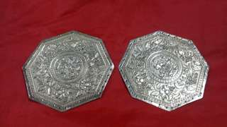 Silver buntal ends