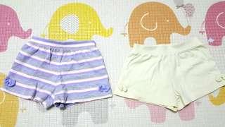 Mothercare 12-18m 短褲2件