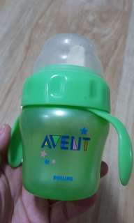 Preloved Avent sippy cup / training cup