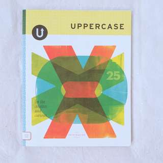 Design magazines - UPPERCASE The Printmaking Issue, 25