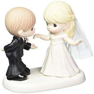 "Precious Moments Figurine ""May I Have This Dance For The Rest Of My Life"""