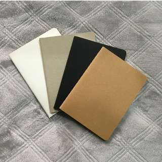 A6 Notebooks - Blank Pages - Fountain Pen Friendly