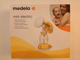 Preloved Medela Mini Electric Breast Pump - Excellent condition!