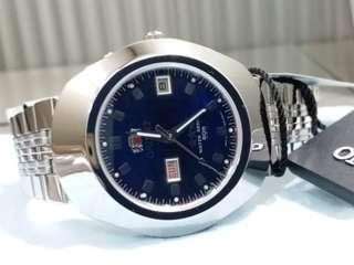 ORIENT~ 東方錶~Made In Japan ~ 機械自動, 不需電池, 經典的80年代跑車款式 NOS new old stock 全新,有盒,有說明書,有吊牌